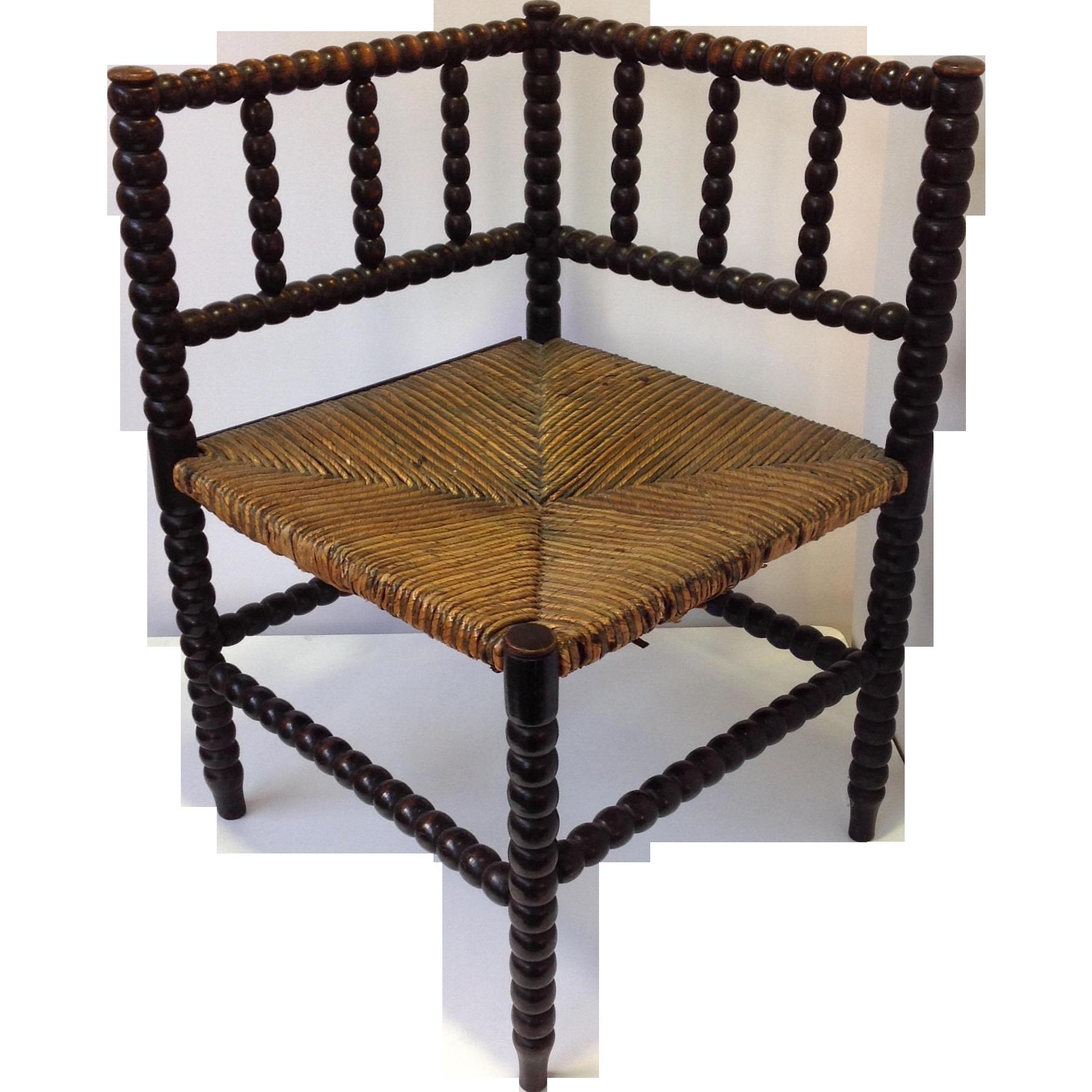 Antique Corner Chair peeinn