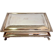 Jewelry Box Footed English Silver
