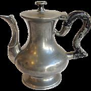 American Miniature Pewter Teapot New England Circa 1820