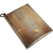 Miniature Card Case English Sterling