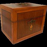 Dutch Liqueur Box Complete 19th c.