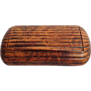Burr Maple Snuff Box Mid 19th Century