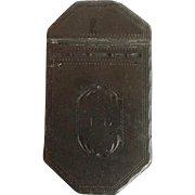 Pewter Snuff Box Wharton Lodge c. 1800