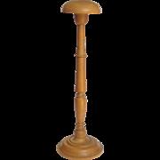 Boxwood Bonnet Stand Circa 1870