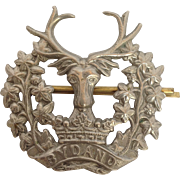 Bydand Badge of the British Army Vintage