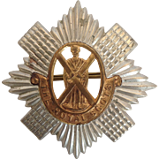 The Royal Scots Badge of the British Army