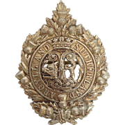 "Argyle and Sutherland Badge of the British Army 3"" Vintage"