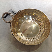 Wine Taster English Sterling Early 20th Century