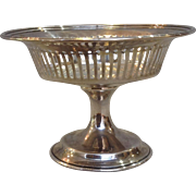 Reed & Barton Sterling Footed Compote 4""