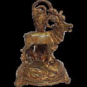 Bull Elk Iron Watch Holder