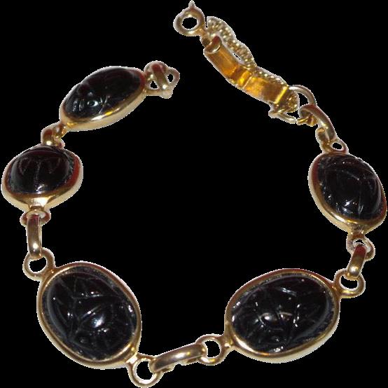 Vintage Scarab Bracelet Sex Games