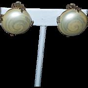 Vintage Signed Vogue Earrings