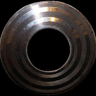 Vintage Large Circle Pin