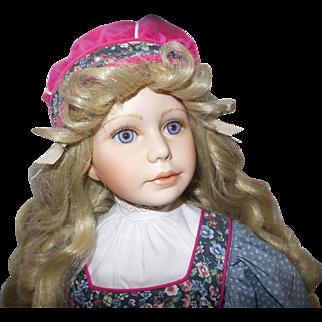 Vintage Thelma Resch Goldilocks Doll in Orignal Box