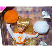 Vintage University of Tennessee Barbie Complete With Original Box