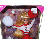 Vintage University of N.C. State Barbie in NRFB with Original Box