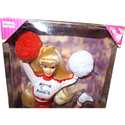 University of Georgia Barbie Doll in Original Box NRFB