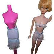 Vintage Barbie Lingerie Set Blue
