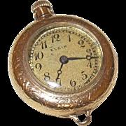 Antique 14 Karat Gold Elgin Wind-Up Watch