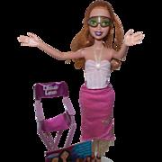 "Vintage My Scene ""Lindsay Lohan"" Doll with Chair"