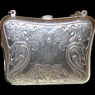 Vintage Art Nouveau Coin Purse