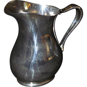 Vintage Reed and Barton US Navy Silver Soldered Pitcher