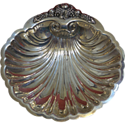 Vintage W S Blackinton Silverplate Scallop Shell Dish