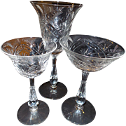 28 Pieces of  1949 Fostoria Crystal Stemware