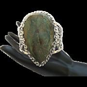 Vintage Native American Turquoise/Silver Bracelet