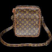 Authentic Louis Vuitton vintage Monogram Marceau small shoulder messenger bag