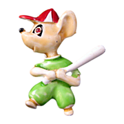 'Little League' Mouse Pin - Uniform, Bat and Baseball Cap