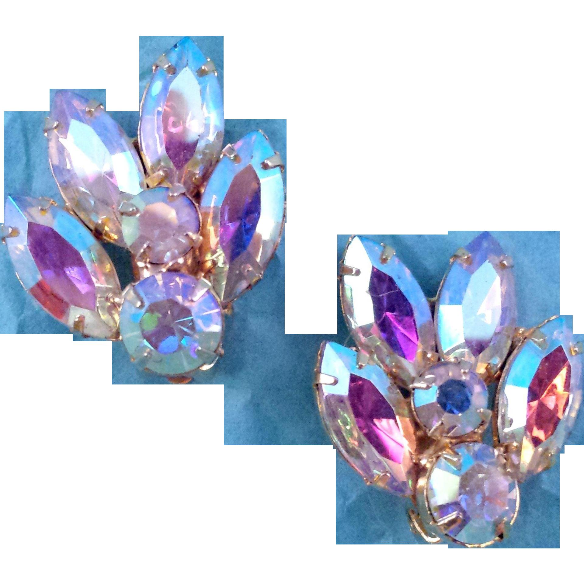 Aurora Borealis Vintage Jewelry 87