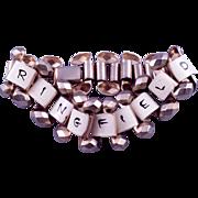 Vintage Springfield MO Enameled Souvenir Bracelet