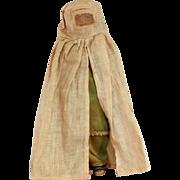 "10"" Cloth Doll with Burkha, Handmade India"