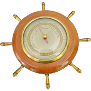 Taylor Instrument Stormoguide Barometer, Nautical, 1927