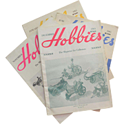 Four Hobbies The Magazine for Collectors, 1964 and 1965