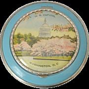 1930s Souvenir Washington D.C. Compact