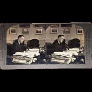 Stereoview of Franklin Delano Roosevelt