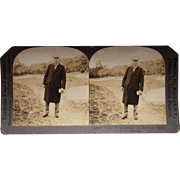 Stereoview of John D. Rockefeller