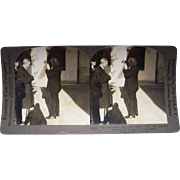Stereoview of Henry Ford Holding Stereoview