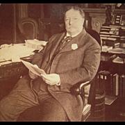Pair Stereoviews Presidents Teddy Roosevelt and William Taft