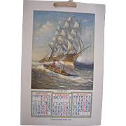 1908 Advertising Calendar (2 Available)