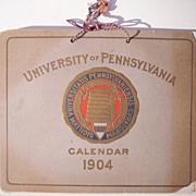 1904 University of Pennsylvania Calendar