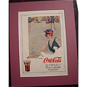 1915 Matted Coca Cola Magazine Advertisement #7