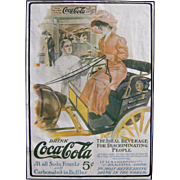 c1906/07 Matted Coca Cola Magazine Advertisement #11