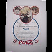 1907 Matted Coca Cola Magazine Advertisement #20