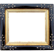 "Ebonized Eastlake Picture Frame 8"" x 10"""