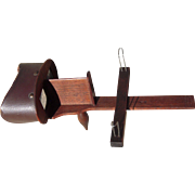 "1874 Walnut ""American Lens"" Stereoviewer"