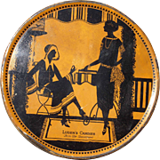 c1930 Large Ludens Candies Advertising Tin