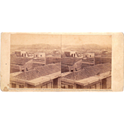 1860 Stereoview of Cuba #88 Castillo Atares